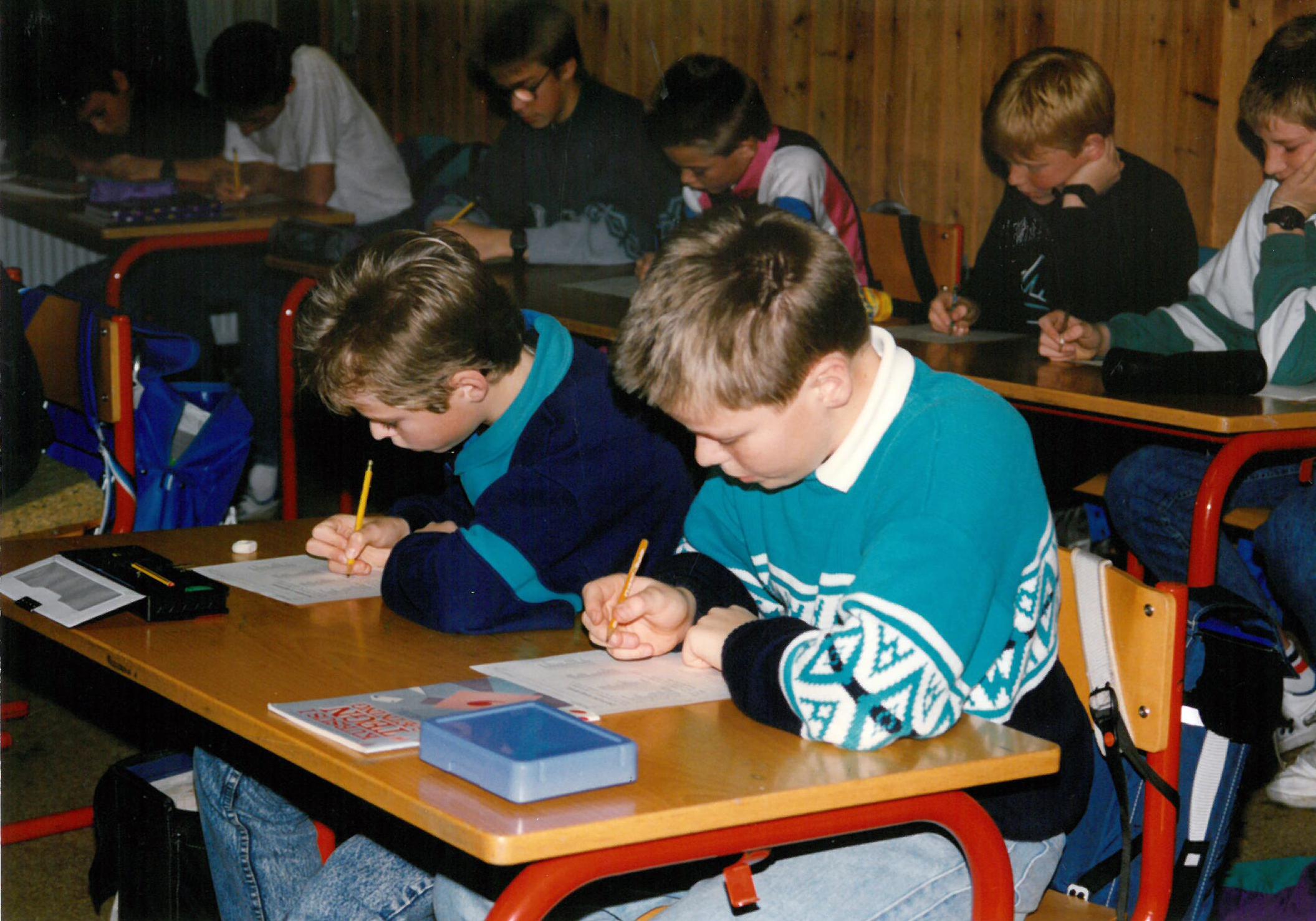 Skolebørn 1980´erne