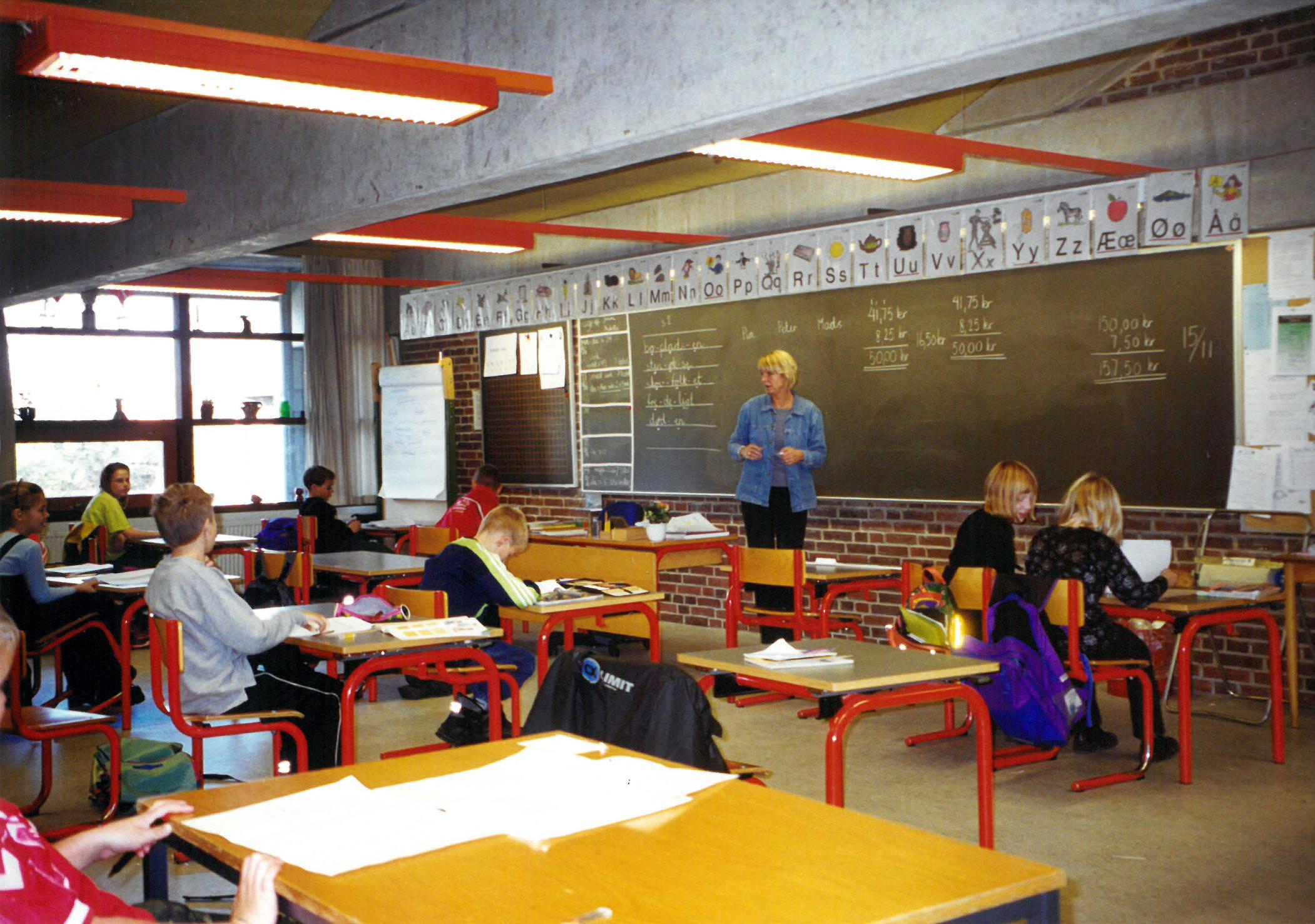 Klasseværelse 1980´erne